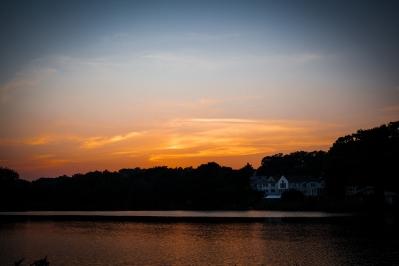 soku_19712.jpg :: ボストン 風景 自然 空 朝日 朝焼け 日の出