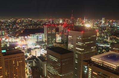 soku_19987.jpg :: 夜景 町並み 新宿 展望台