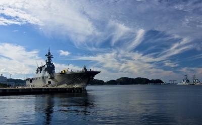 soku_20242.jpg :: 乗り物 交通 船 護衛艦 DDH.181 ひゅうが Hyuga 横須賀逸見岸壁