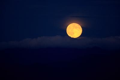 soku_20369.jpg :: 風景 自然 天体 月 満月 フルフルフルムーン by Niigata