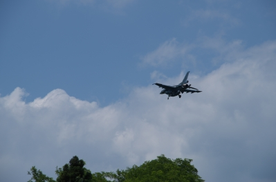 soku_20410.jpg :: 乗り物 交通 航空機 飛行機 軍用機 支援戦闘機 F.2A