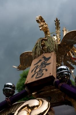 soku_20471.jpg :: 神輿 空 雲 鳥