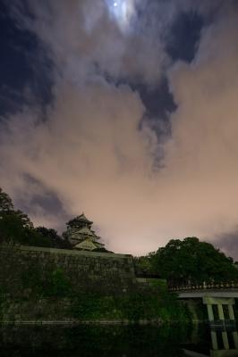 soku_20511.jpg :: 夜景 建築 建造物 城 風景 自然 空 雲