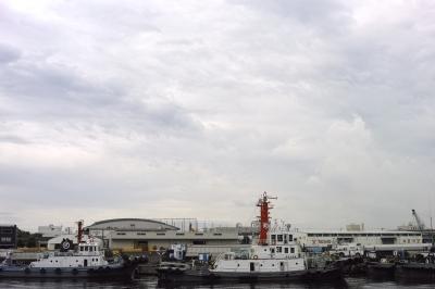 soku_20599.jpg :: 乗り物 交通 船 ボート タグボート 曳船