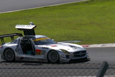 soku_20647.jpg :: SUPERGT 富士スピードウェイ レーシングカー SLS