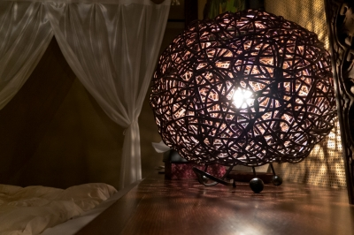 soku_20857.jpg :: 照明器具 アジアンチック 鳥の巣