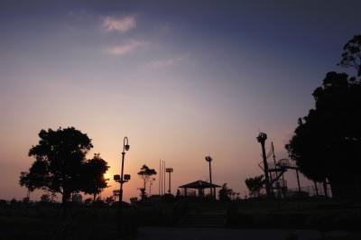 soku_20882.jpg :: 夕景 風景 自然 空 夕焼け