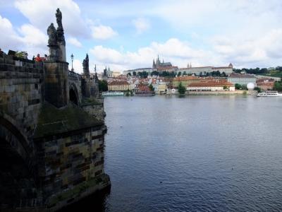 soku_21005.jpg :: プラハ カレル橋 プラハ城 風景 街並み 都市の風景 外国