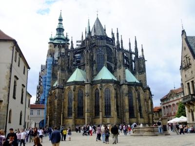 soku_21044.jpg :: プラハ 王宮 教会 建築 建造物 歴史的建造物 外国