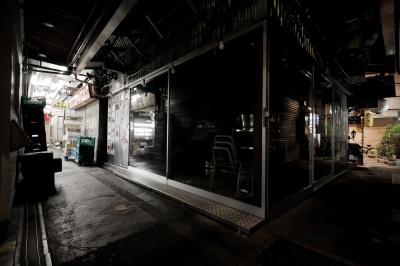 soku_21085.jpg :: 夜景 都市の風景 吉祥寺 ハモニカ横丁 深夜