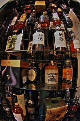 soku_21117.jpg :: 酒 ウイスキー 魚眼レンズ フィッシュアイ 酒スレ