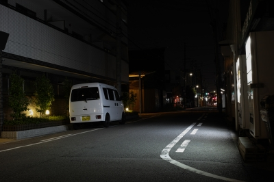 soku_21124.jpg :: 風景 街並み 都市の風景 住宅街 夜景