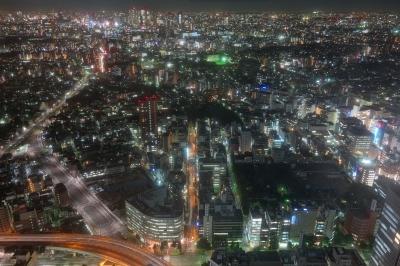soku_21225.jpg :: 夜景 サンシャイン 風景 街並み 都市の風景