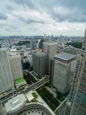 soku_21636.jpg :: 風景 街並み 都市の風景 ビル 都庁