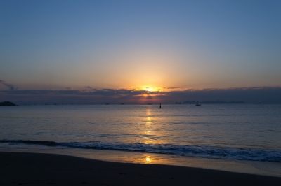 soku_21733.jpg :: 風景 自然 空 朝日 朝焼け 日の出