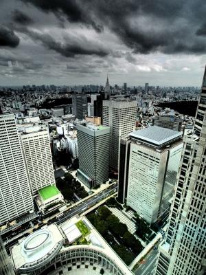 soku_21841.jpg :: 風景 街並み 都市の風景 ビル 都庁