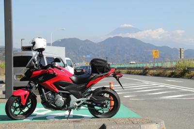 soku_21849.jpg :: 乗り物 交通 自動車 オートバイ 乗り物 交通 自動車 オートバイ バイク NC700X 富士山 由比PA