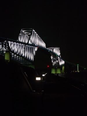 soku_22003.jpg :: 建築 建造物 橋 風景 街並み ランドマーク 東京ゲートブリッジ 夜景