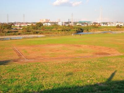 soku_22225.jpg :: 多摩川 ボールパーク 河川敷