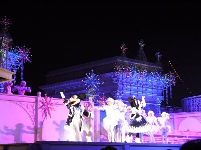 soku_22310.jpg :: 遊園地 テーマパーク ディズニーランド 夜景