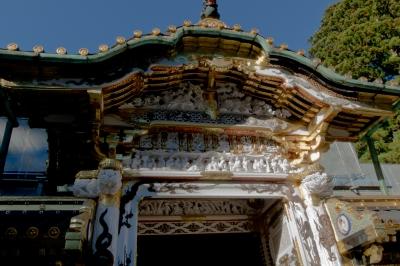 soku_22444.jpg :: 建築 建造物 神社 日光東照宮 彫刻 門 日本芸術