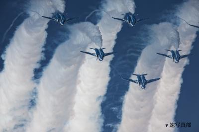soku_22463.jpg :: 飛行機 ブルーインパルス T.4