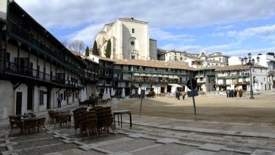 soku_22512.jpg :: スペイン チンチョン 風景 街並み 都市の風景 外国