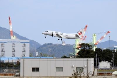 soku_22643.jpg :: 乗り物 交通 航空機 飛行機 JAC SAAB 340B