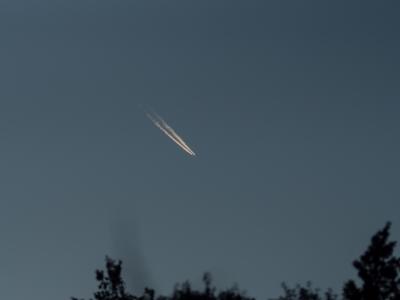 soku_22982.jpg :: 風景 自然 空 飛行機雲
