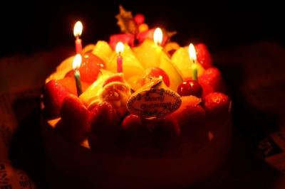 soku_23446.jpg :: クリスマス クリスマスケーキ