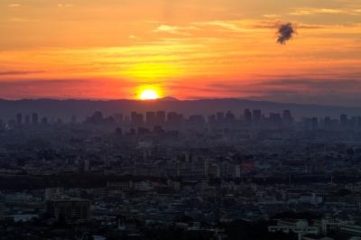soku_23556.jpg :: 大阪 甲山森林公園より 初日の出