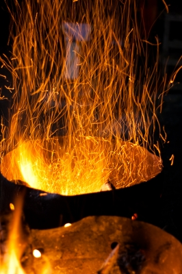 soku_23581.jpg :: どんと焼き 炎 火の粉