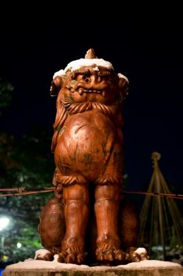 soku_23584.jpg :: 建築 建造物 神社 狛犬