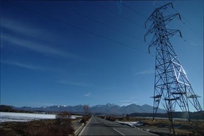 soku_23803.jpg :: 自然 山 八ヶ岳 人工物 鉄塔