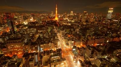 soku_24246.jpg :: 風景 街並み 都市の風景 夜景