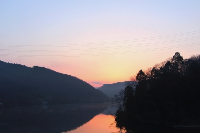 soku_24376.jpg :: 風景 自然 空 朝日 朝焼け 日の出