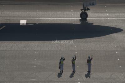 soku_25156.jpg :: 乗り物 交通 建物 施設 空港 誘導路