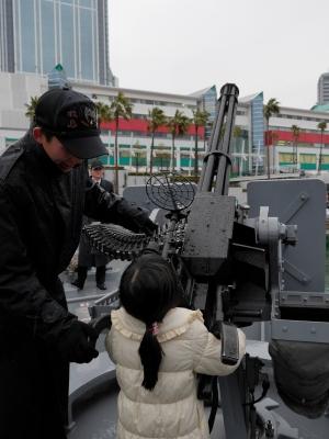 soku_25185.jpg :: OSAKA防衛・防災フェスティバル2013 掃海船 まきしま 海上自衛隊