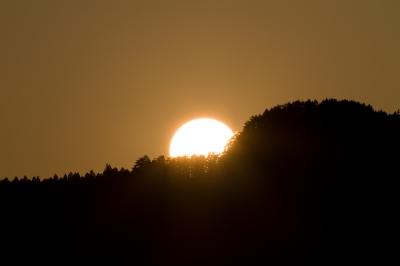 soku_25492.jpg :: 風景 自然 空 夕日 夕焼け
