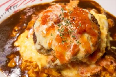 soku_25565.jpg :: 食べ物 洋食 ハンバーグ