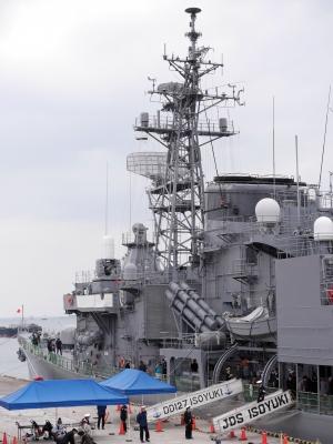 soku_25578.jpg :: 練習艦隊 大阪 天保山 寄港 護衛艦いそゆき 海上自衛隊