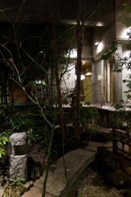 soku_25623.jpg :: 中庭 庭園 和風庭園 夜景 ダイナミックレンジ不足