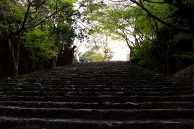 soku_25818.jpg :: 階段 石段 寺社仏閣 五台山 竹林寺