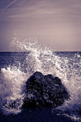 soku_25861.jpg :: 風景 自然 海 海岸 波