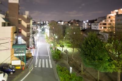 soku_25947.jpg :: 風景 街並み 都市の風景 道路 夜景