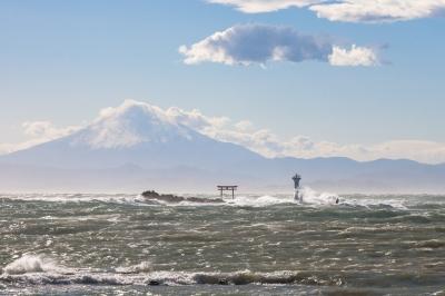 soku_26056.jpg :: 風景 自然 海 山 富士山