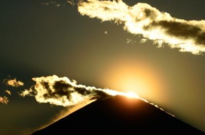 soku_26112.jpg :: 風景 自然 山 富士山 ダイヤモンド富士