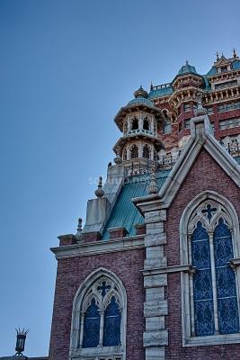 soku_26136.jpg :: 風景 街並み 郊外の風景 外国 建築 建造物 教会