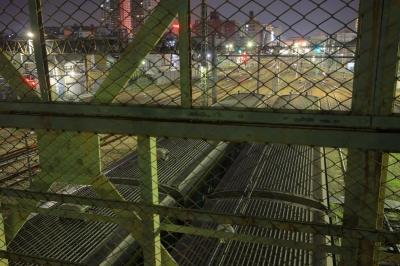 soku_26243.jpg :: 三鷹ヤード 夜景 電車