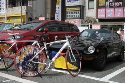 soku_26264.jpg :: 乗り物 交通 その他の乗り物 自転車 秋葉原 痛車